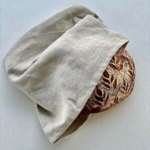 Brødpose med brød